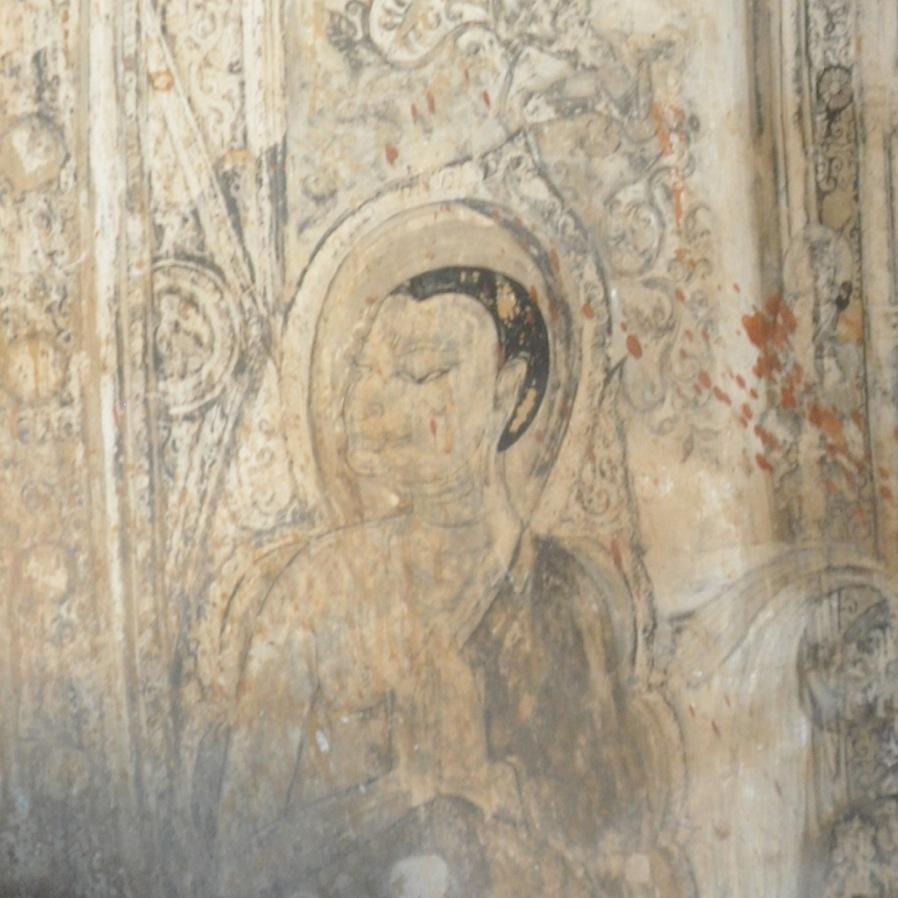 Wall_Mural_Near_Buddha_Khay_Min_Gha_Temple