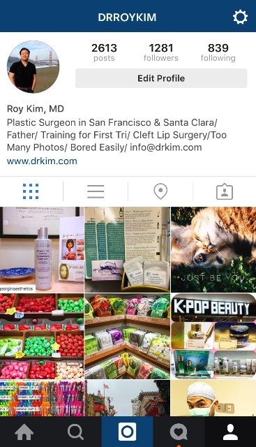 Dr. Roy Kim Instagram Post - www.drkim.com